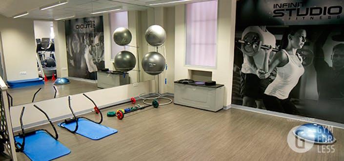 Oferta gimnasio infinit fitness azca madrid gymforless for Gimnasio 4 caminos