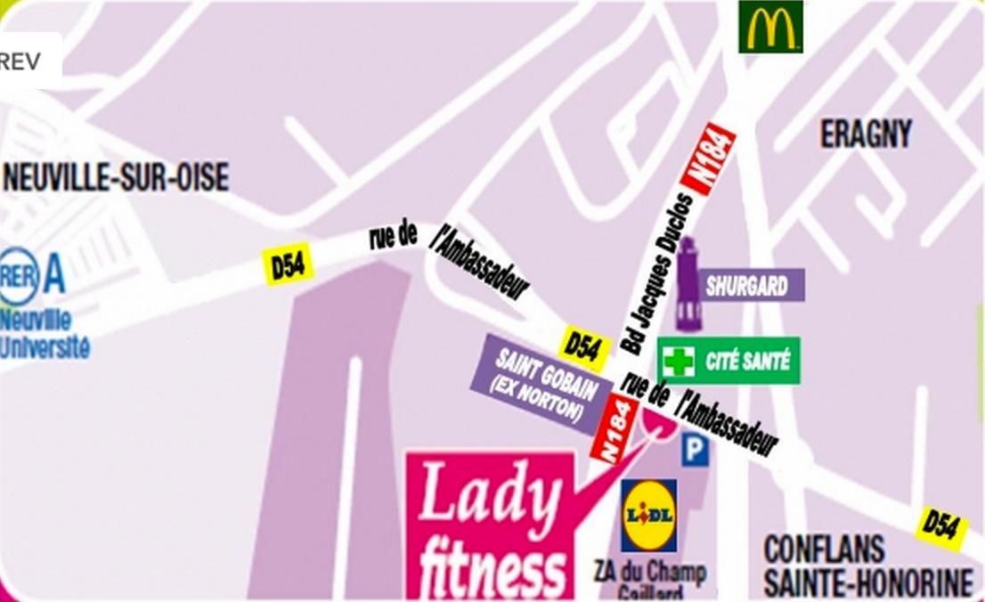 Photo 1 Les meilleurs tarifs  et activités pour le centre Lady Fitness Conflans Conflans Sainte Honorine