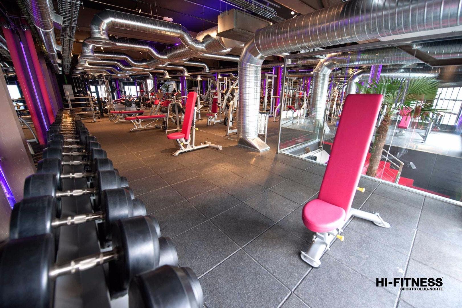Foto 1 Oferta Gimnasio Hi fitness Norte Madrid - GymForLess