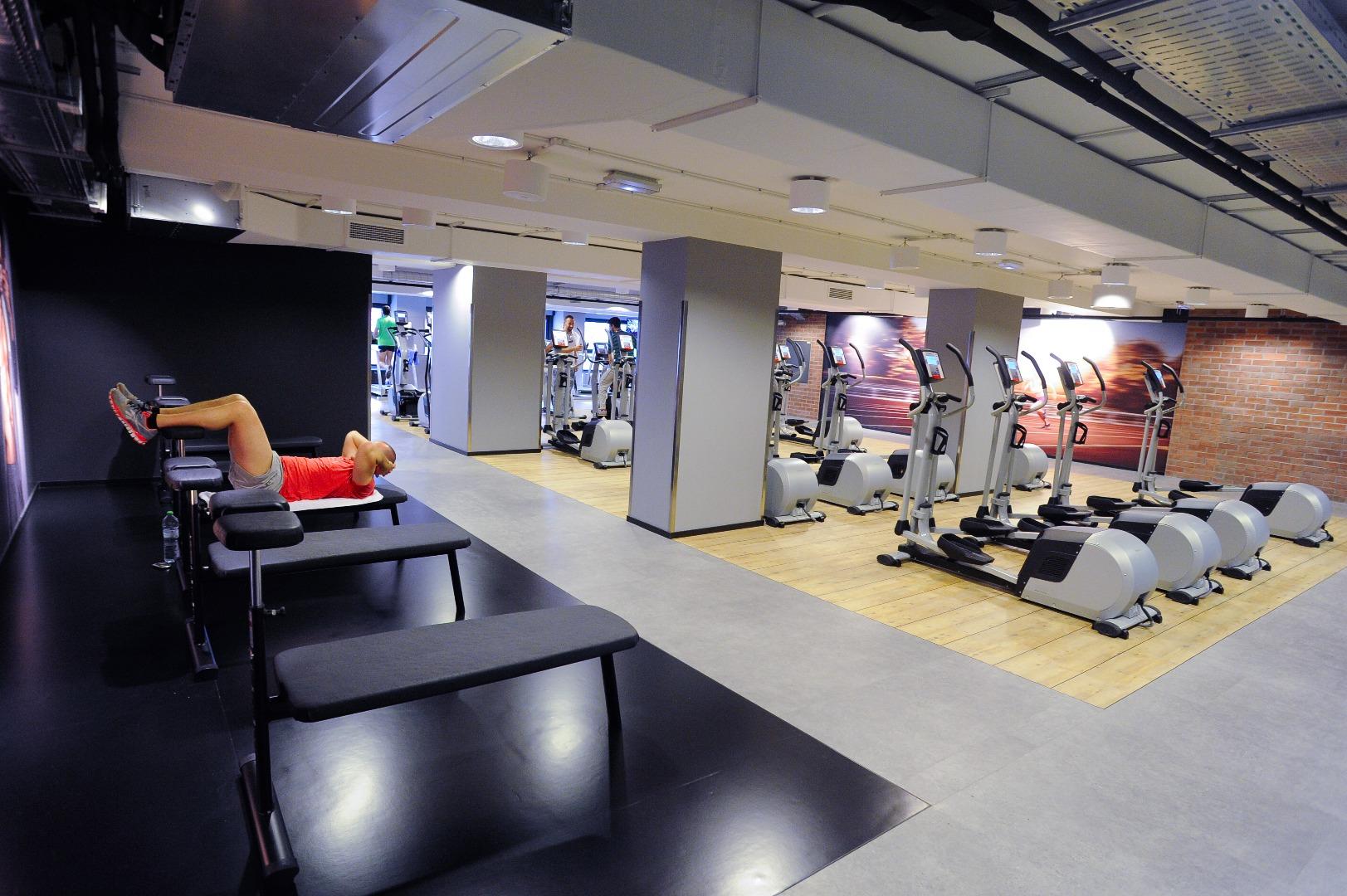 Carrefour gym