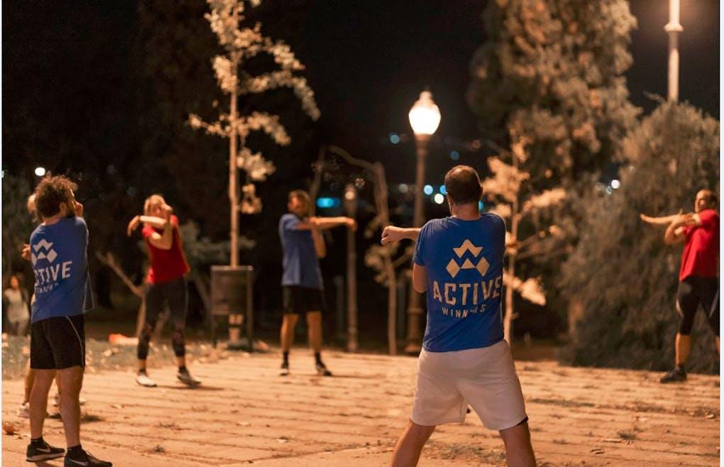 Active winners - Parc de la Ciudadella