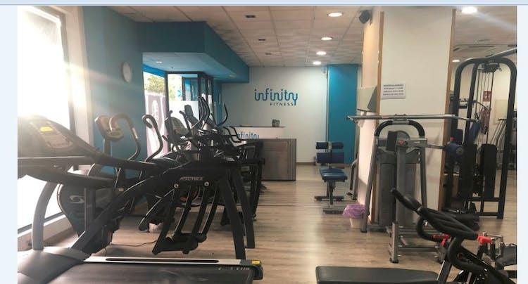 Oferta Gimnasio Infinity fitness Jaén - Andjoy