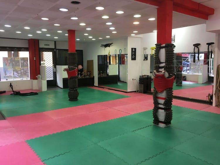 Escuela de artes marciales - El dojo