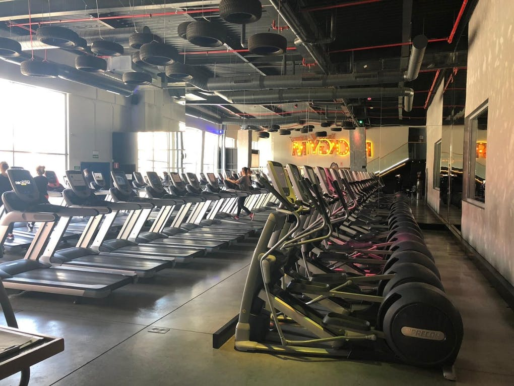 Cr7 Crunch Fitness Rivas