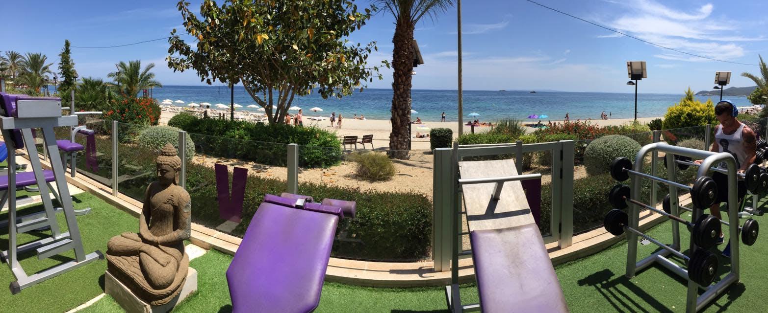 Oferta Gimnasio Nirvana Beach Eivissa - Andjoy