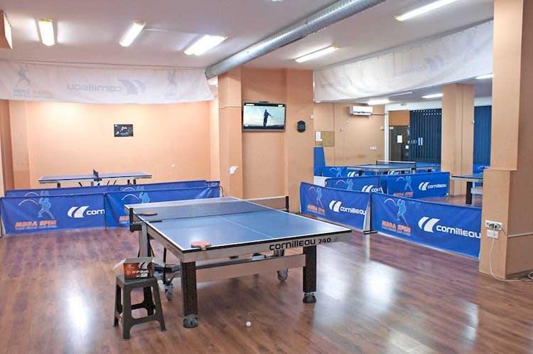 Зала за тенис на маса Мега Спин