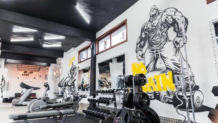 Фитнес зала T-GYM