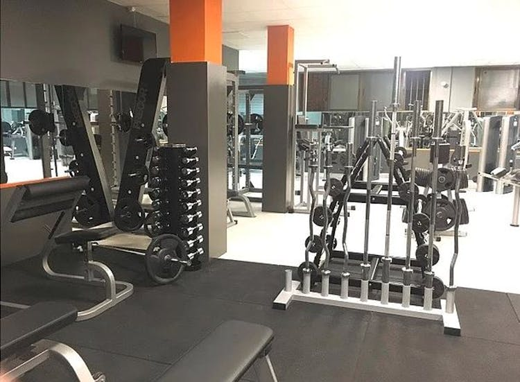Olympic fitness zone