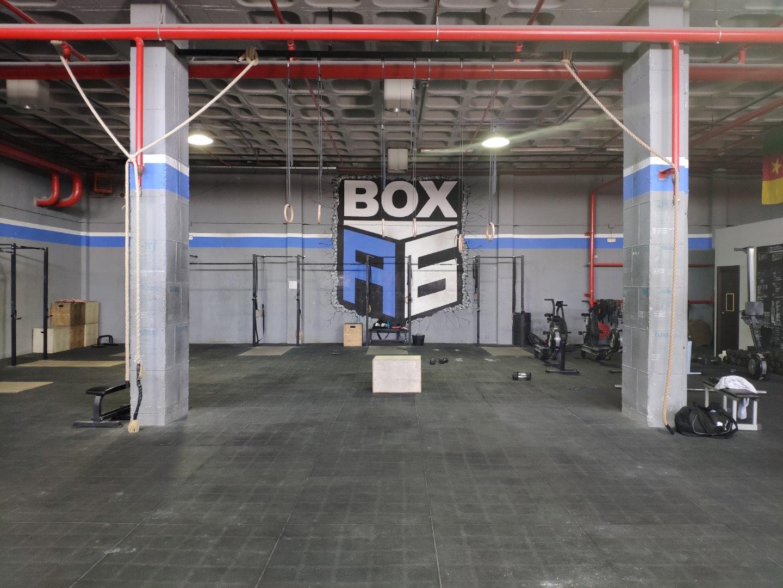 Crossfit box A6