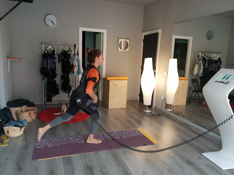 Electro fitness Sakila sala peals mile