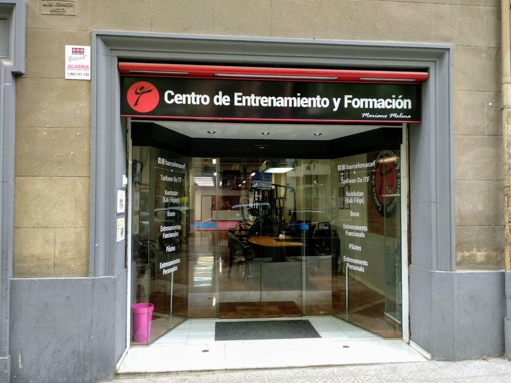 CEF - CENTRO DE ENTRENAMIENTO Y FORMACIÓN
