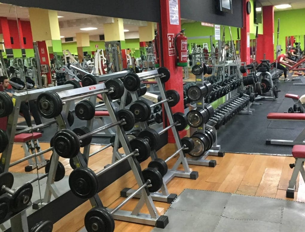 Coliseum gym