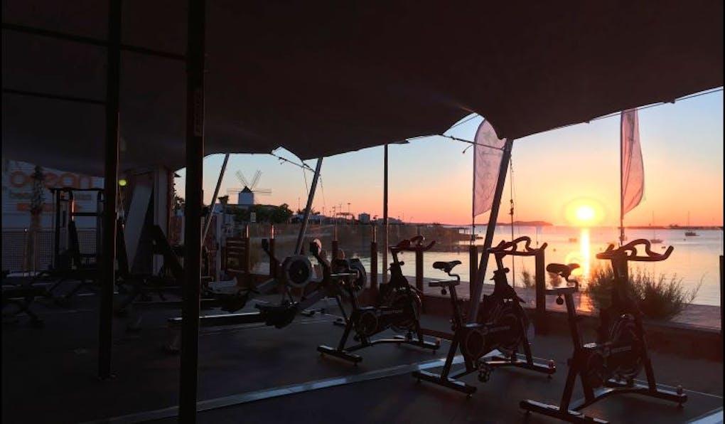 Beach Box Gym Ibiza