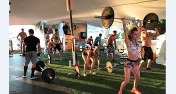 Beach Box Gym Ibiza