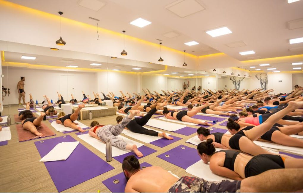 Barquillo hot yoga