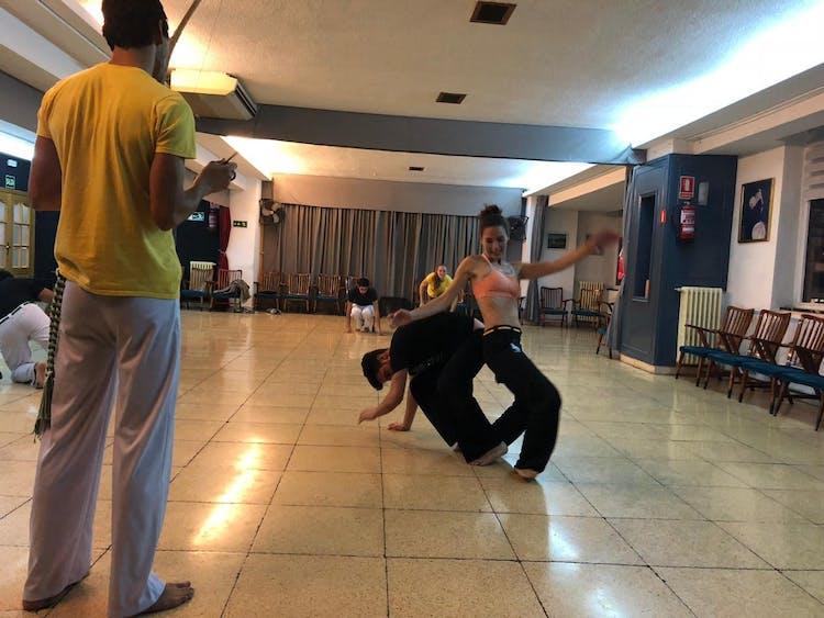 Capoeira Mucumbé Madrid
