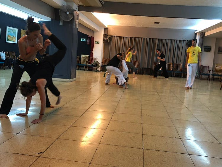 Capoeira Mucumbé Madrid