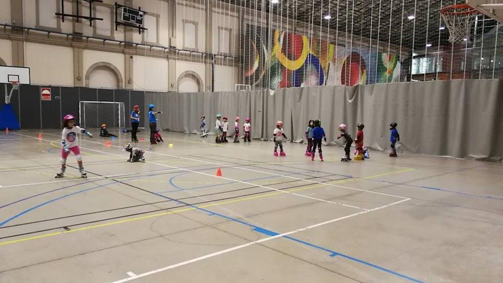 Escola oficial de patinatge Inline Estació del Nord