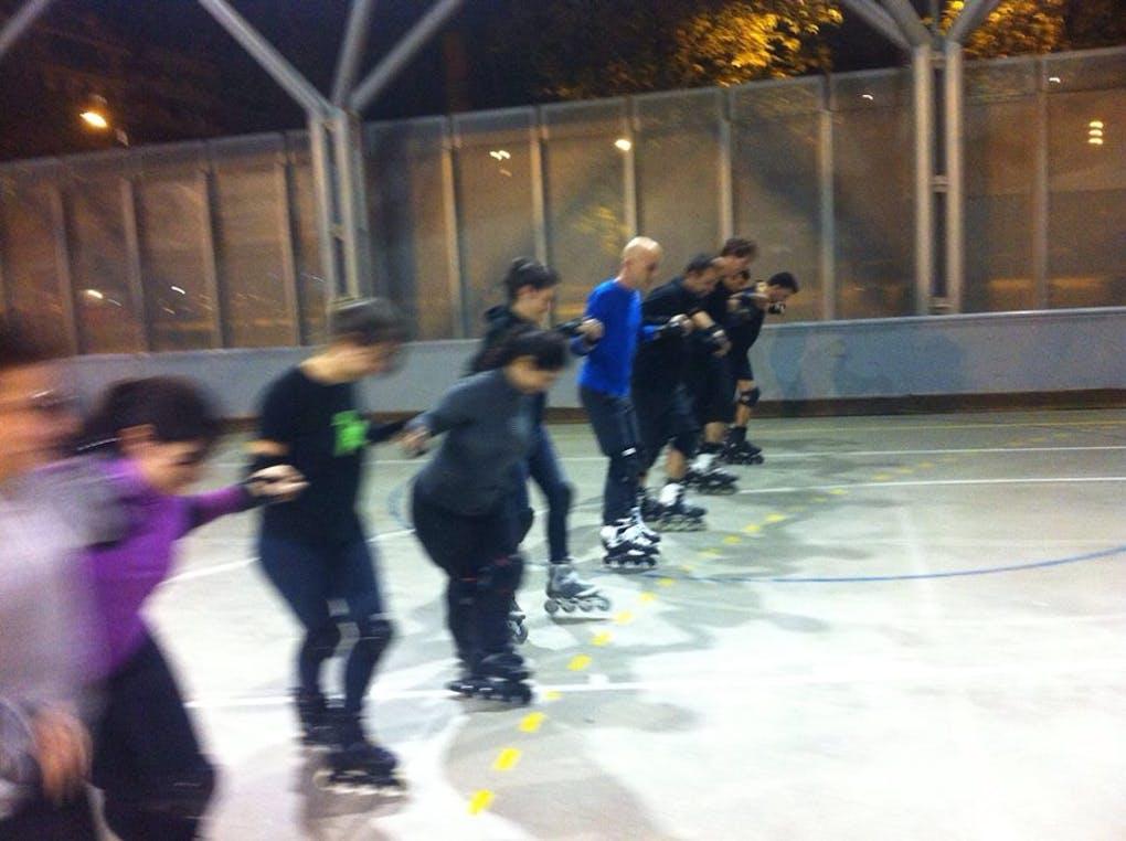 Escola oficial de patinatge Inline Clot de la Mel