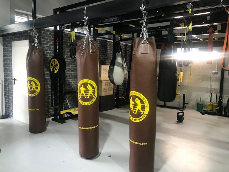 Escuela de boxeo - El club de la lucha