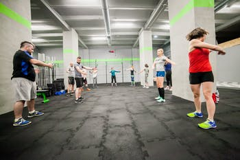 Crossfit Black Ground