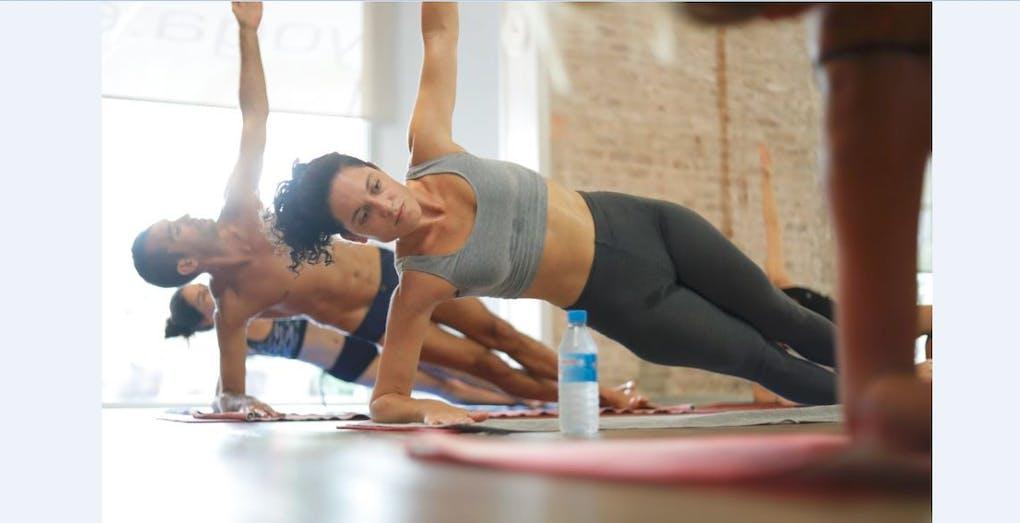 Bikram Yoga Barcelona.
