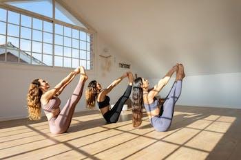 Yoga studio Laura Lakshmi