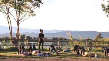Yoga con Ana Pau Parc de la Ciutadella